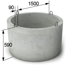 ЖБИ кольцо КС 15,6
