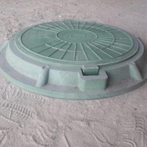 полимерно песчаный люк 15 т